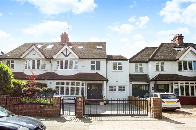 £7,366  per Calendar Month (Calculated), 6 Bedroom Detached House To Rent in London, W4