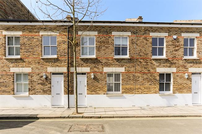 £2,751  per Calendar Month (Calculated), 3 Bedroom Terraced House To Rent in London, W6