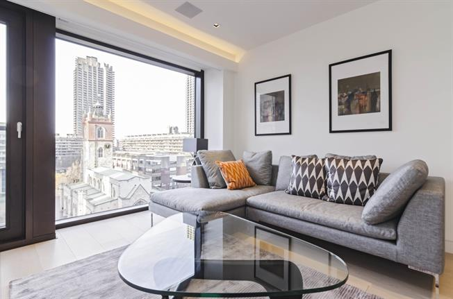 £2,491  per Calendar Month (Calculated), 1 Bedroom Apartment To Rent in London, EC2Y