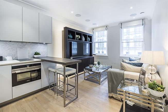 £2,253  per Calendar Month (Calculated), 1 Bedroom Apartment To Rent in London, WC2R