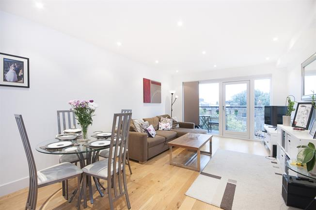 £1,711  per Calendar Month (Calculated), 1 Bedroom Apartment To Rent in London, SW9
