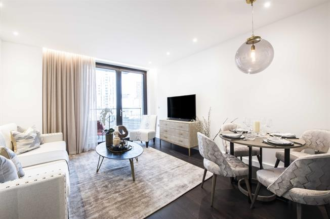 £2,448  per Calendar Month (Calculated), 1 Bedroom Apartment To Rent in London, SW11