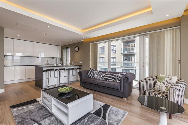 £3,033  per Calendar Month (Calculated), 2 Bedroom Apartment To Rent in London, W6