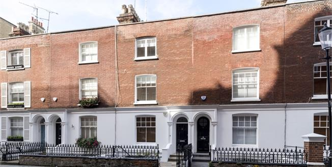 £6,500  per Calendar Month (Calculated), 4 Bedroom Town House To Rent in London, W8