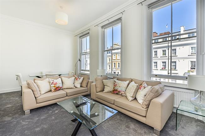 £3,510  per Calendar Month (Calculated), 2 Bedroom Apartment To Rent in London, W8