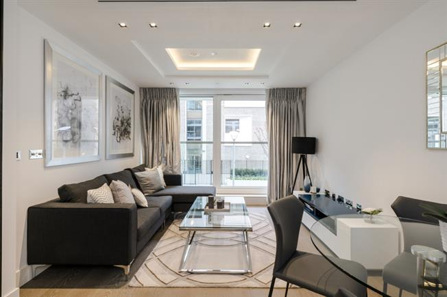 £4,116  per Calendar Month (Calculated), 1 Bedroom Apartment To Rent in London, W14