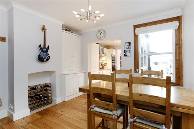 £2,400 per Calendar Month, 4 Bedroom House To Rent in Kingston upon Thames, KT2