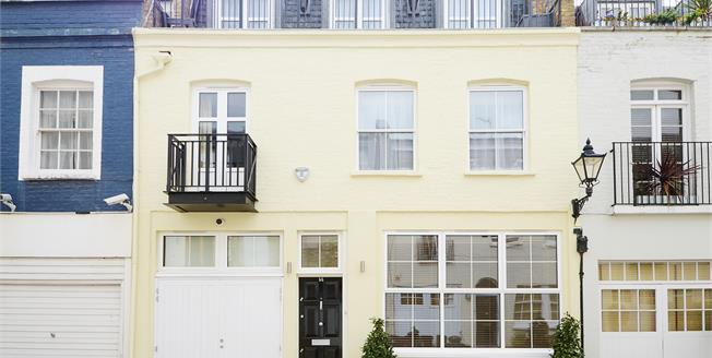 £7,496  per Calendar Month (Calculated), 4 Bedroom Mews House To Rent in London, SW7
