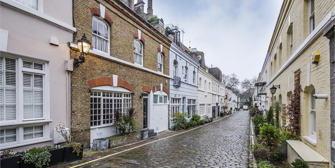 £3,900  per Calendar Month (Calculated), 3 Bedroom Mews House To Rent in London, SW7
