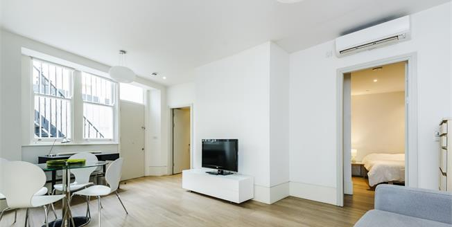 £1,906  per Calendar Month (Calculated), 1 Bedroom Flat To Rent in London, SW7