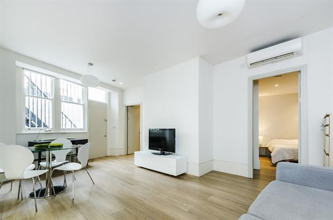 £1,711  per Calendar Month (Calculated), 1 Bedroom Flat To Rent in London, SW7