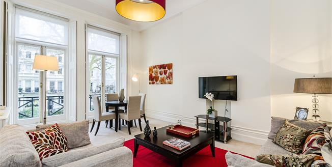 £3,141  per Calendar Month (Calculated), 1 Bedroom Flat To Rent in London, SW7