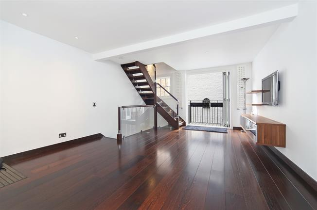 £4,766  per Calendar Month (Calculated), 2 Bedroom Terraced House To Rent in London, SW7