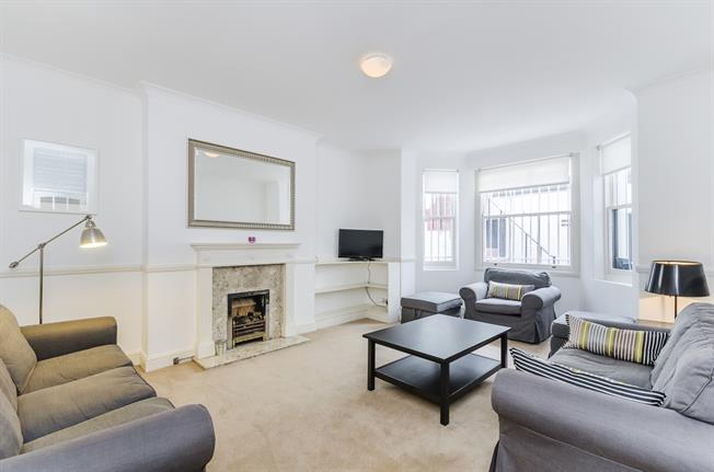 £3,011  per Calendar Month (Calculated), 2 Bedroom Flat To Rent in London, SW7
