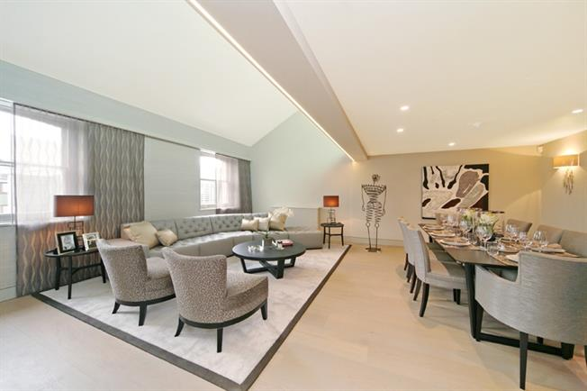 £25,783  per Calendar Month (Calculated), 4 Bedroom Penthouse To Rent in London, SW7