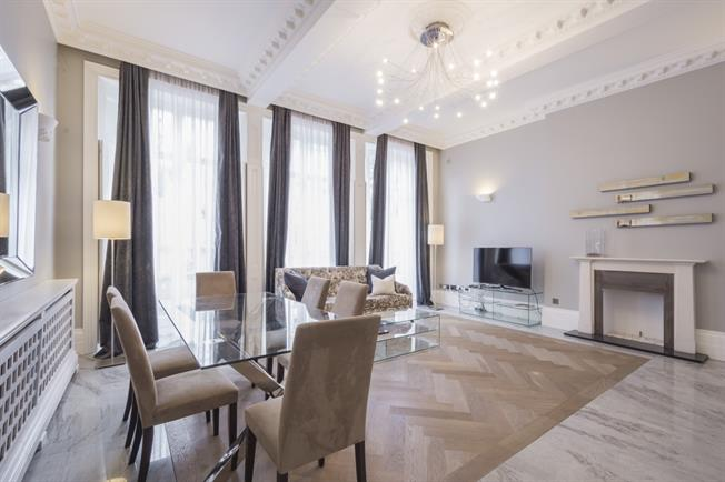 £4,983  per Calendar Month (Calculated), 2 Bedroom Flat To Rent in London, SW7