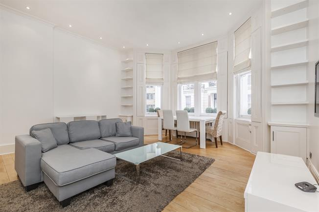 £2,925  per Calendar Month (Calculated), 1 Bedroom Flat To Rent in London, SW7