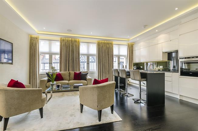 £4,008  per Calendar Month (Calculated), 1 Bedroom Apartment To Rent in London, SW1X