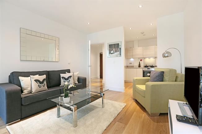 £1,885  per Calendar Month (Calculated), 1 Bedroom Apartment To Rent in London, W10