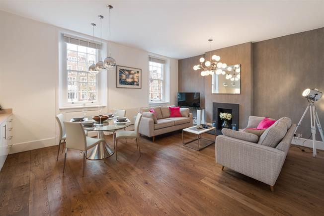 £4,225  per Calendar Month (Calculated), 2 Bedroom Flat To Rent in London, W2