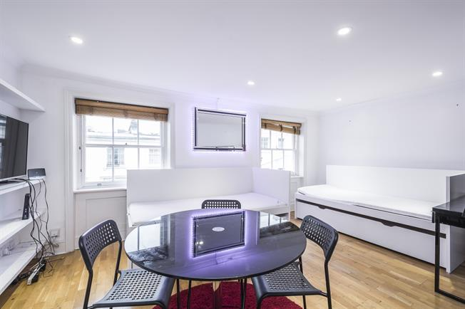 £1,841  per Calendar Month (Calculated), 1 Bedroom Flat To Rent in London, W2