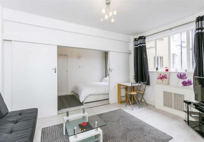£2,383  per Calendar Month (Calculated), 1 Bedroom Apartment To Rent in London, NW1