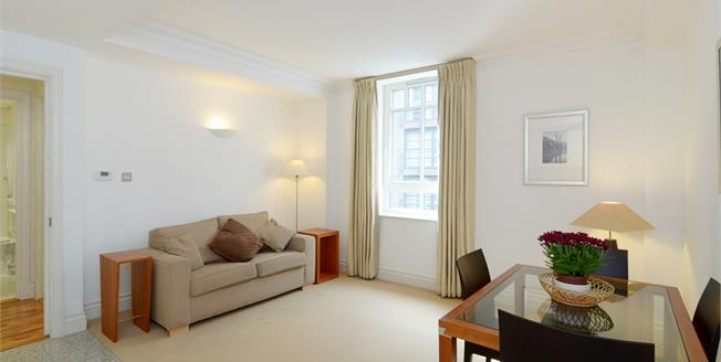 £1,711  per Calendar Month (Calculated), 1 Bedroom Flat To Rent in London, SW1P