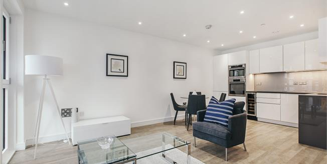 £1,863  per Calendar Month (Calculated), 1 Bedroom Flat To Rent in London, SW8