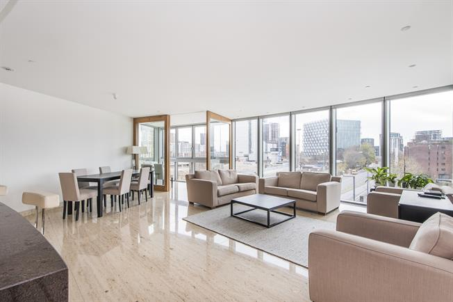 £4,983  per Calendar Month (Calculated), 2 Bedroom Apartment To Rent in London, SW8