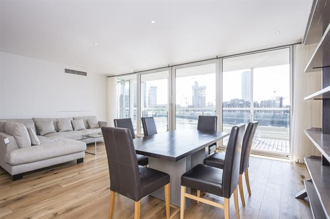 £4,983  per Calendar Month (Calculated), 3 Bedroom Apartment To Rent in London, SW1V