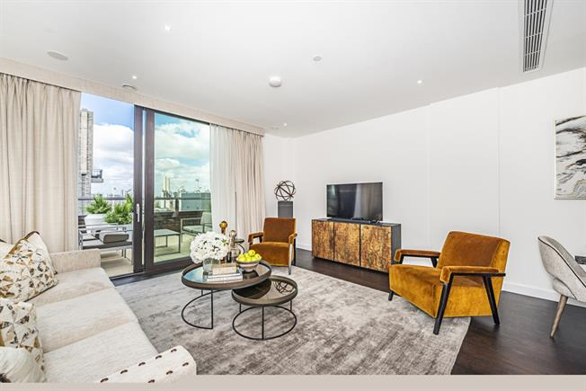 £9,295  per Calendar Month (Calculated), 3 Bedroom Apartment To Rent in London, SW11