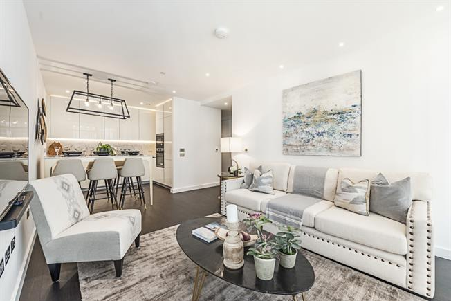 £3,445  per Calendar Month (Calculated), 2 Bedroom Apartment To Rent in London, SW11