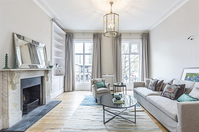 £6,716  per Calendar Month (Calculated), 5 Bedroom Terraced House To Rent in London, SW1V