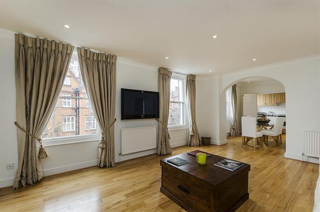 £4,008  per Calendar Month (Calculated), 2 Bedroom Flat To Rent in London, SW3