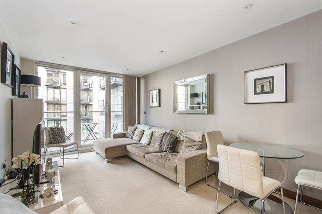 £1,841  per Calendar Month (Calculated), 1 Bedroom Apartment To Rent in London, SW11