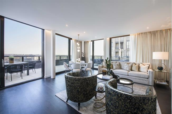 £7,843  per Calendar Month (Calculated), 3 Bedroom Apartment To Rent in London, SW11