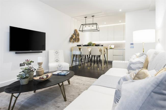 £3,835  per Calendar Month (Calculated), 2 Bedroom Apartment To Rent in London, SW11