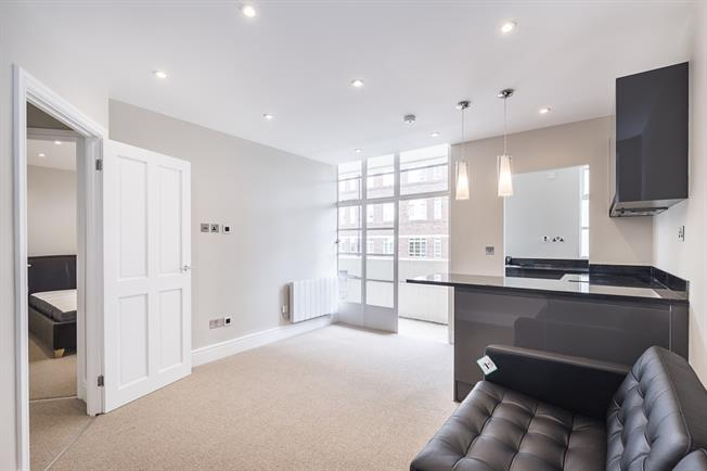 £2,101  per Calendar Month (Calculated), 1 Bedroom Flat To Rent in London, SW3