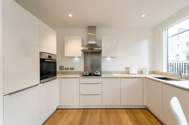 £1,729  per Calendar Month (Calculated), 1 Bedroom Apartment To Rent in London, NW6
