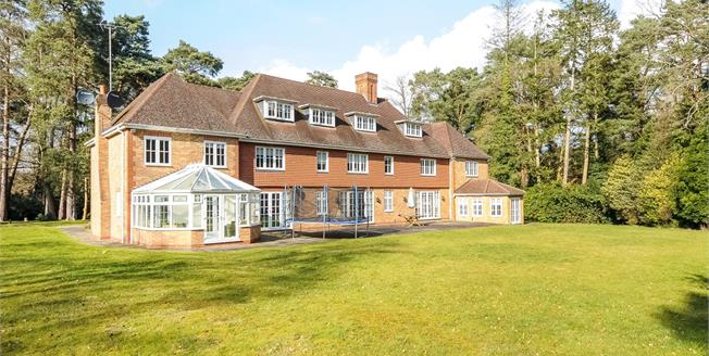 £7,950 per Calendar Month, 7 Bedroom Detached House To Rent in Ascot, SL5