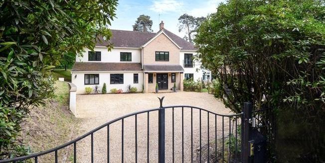 £4,750 per Calendar Month, 6 Bedroom Detached House To Rent in Camberley, GU15
