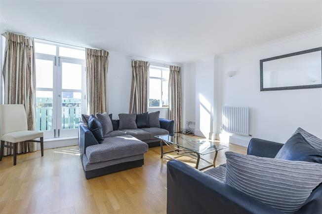 £1,733  per Calendar Month (Calculated), 1 Bedroom Flat To Rent in London, SE16