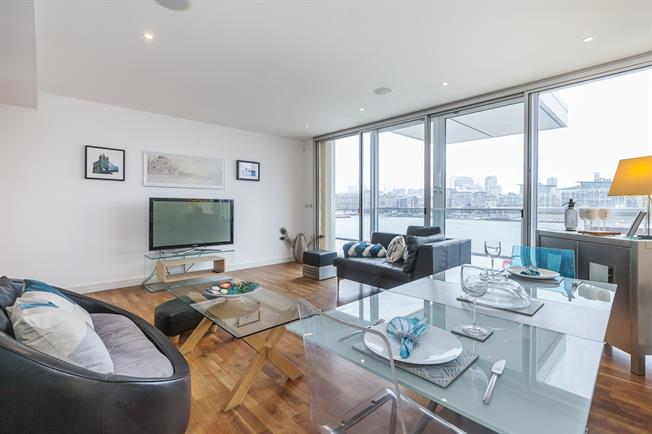 £2,383  per Calendar Month (Calculated), 2 Bedroom Apartment To Rent in London, SE16