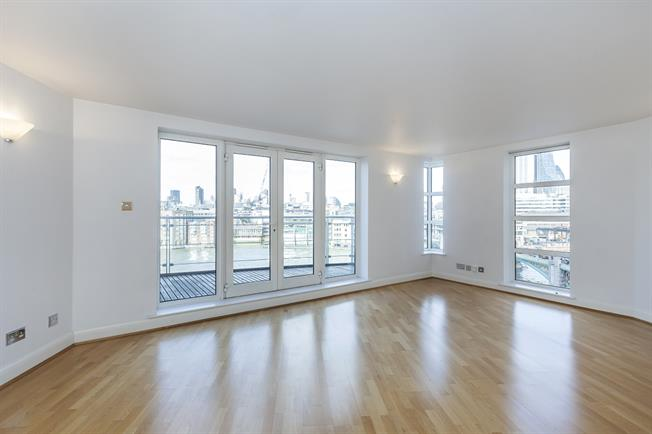 £3,683  per Calendar Month (Calculated), 2 Bedroom Apartment To Rent in London, SE1