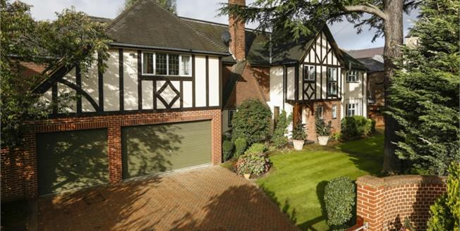 £7,583  per Calendar Month (Calculated), 4 Bedroom Detached House To Rent in London, SW20