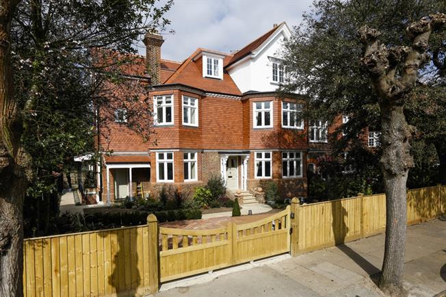 £13,500 per Calendar Month, 6 Bedroom Semi Detached House To Rent in Wimbledon, SW19
