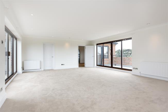 £3,466  per Calendar Month (Calculated), 2 Bedroom Penthouse To Rent in London, SW19