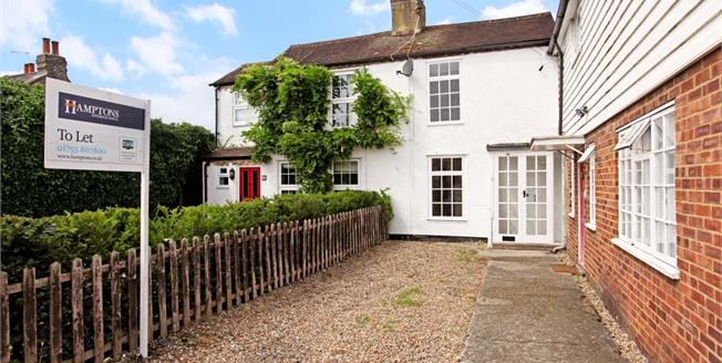 £1,295 per Calendar Month, 2 Bedroom Cottage House To Rent in Old Windsor, SL4