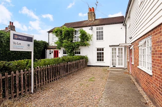 £1,195 per Calendar Month, 2 Bedroom Cottage House To Rent in Old Windsor, SL4