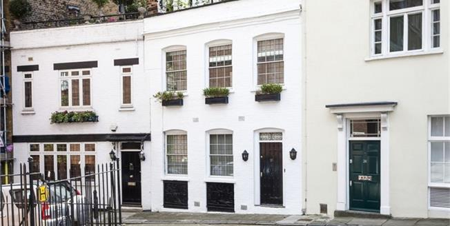 £3,358  per Calendar Month (Calculated), 1 Bedroom Mews House To Rent in London, W1J